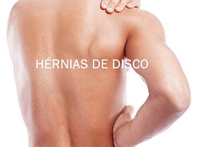 HÉRNIAS DE DISCO